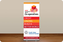 Retractable Banners - Credit Unions